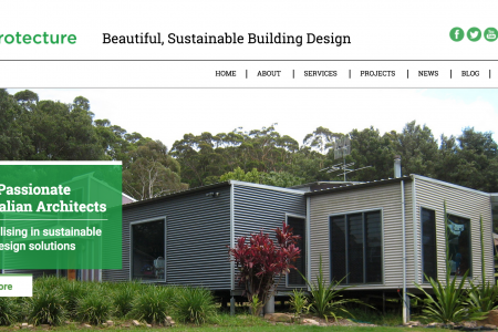 Awesome Eco-Architects and Building Designers now have a Website to Match